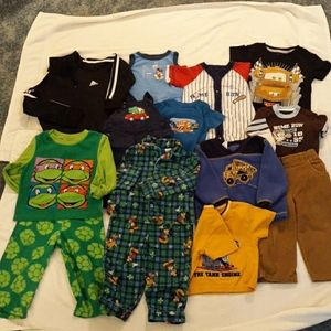 Baby clothes (boy) 12 items
